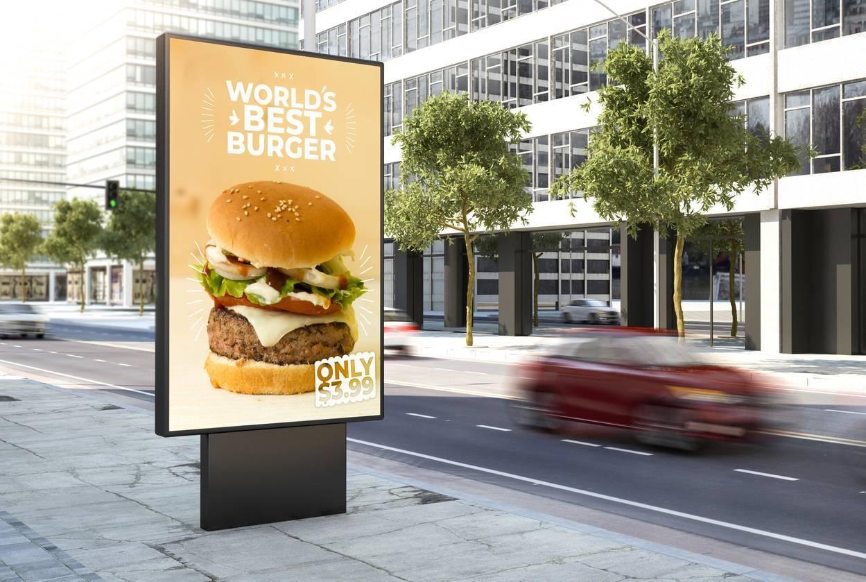 publicité grand format